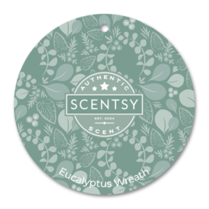 Eucalyptus Wreath Scentsy Scent Circle
