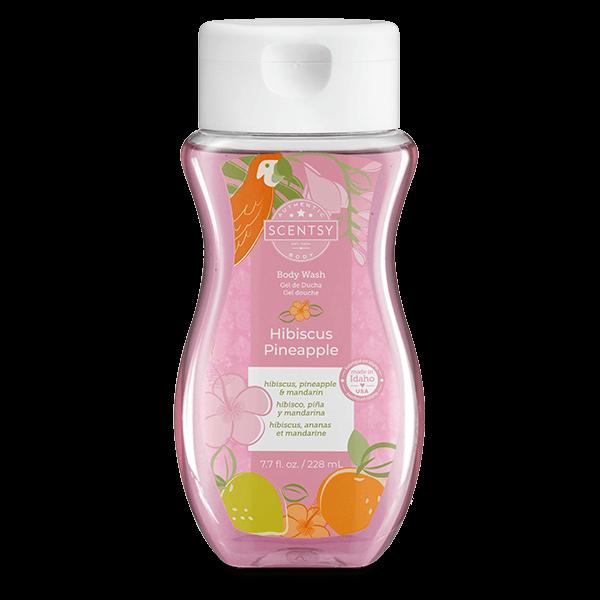 Hibiscus Pineapple Scentsy Body Wash