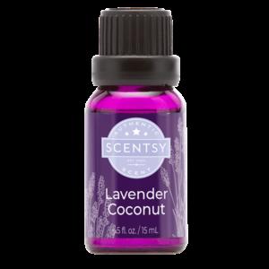 Lavender Coconut Natural Scentsy Oil Blend