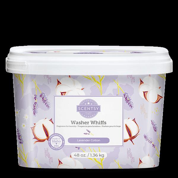 Lavender Cotton Scentsy Washer Whiffs Tub