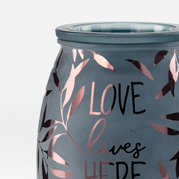 Love Lives Here Scentsy Warmer