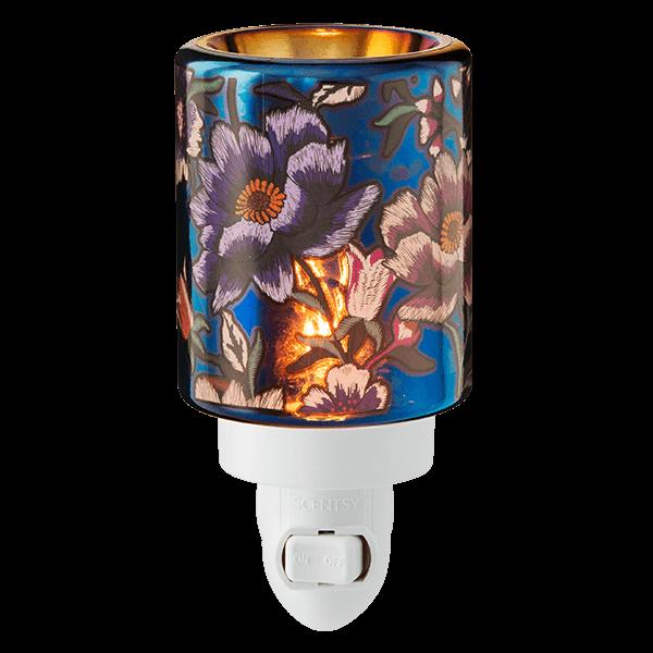 Midnight Floral Mini Scentsy Warmer