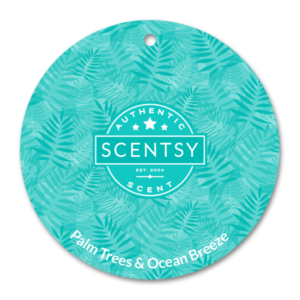 Palm Trees & Ocean Breeze Scentsy Scent Circle