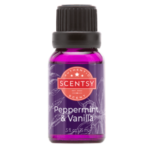 Peppermint & Vanilla Natural Scentsy Oil Blend