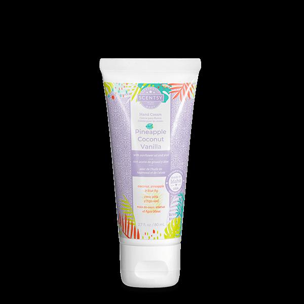 Pineapple Coconut Vanilla Scentsy Hand Cream