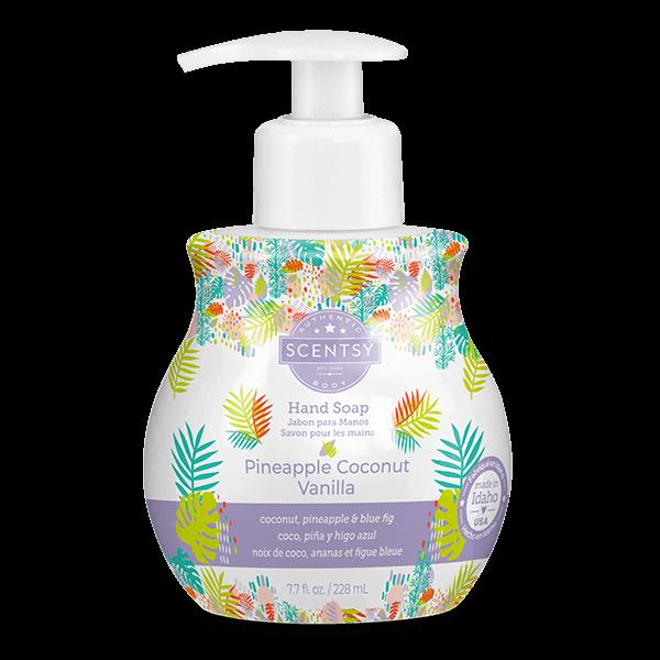 Pineapple Coconut Vanilla Scentsy Hand Soap