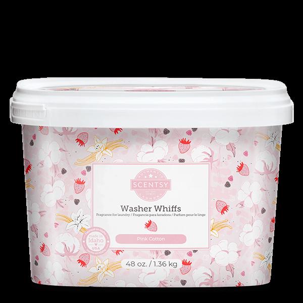 Pink Cotton Scentsy Washer Whiffs Tub