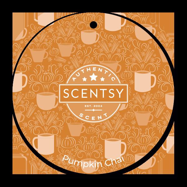 Pumpkin Chai Scentsy Scent Circle