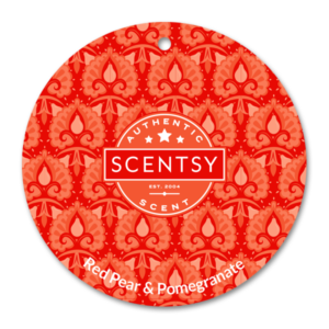 Red Pear & Pomegranate Scentsy Scent Circle