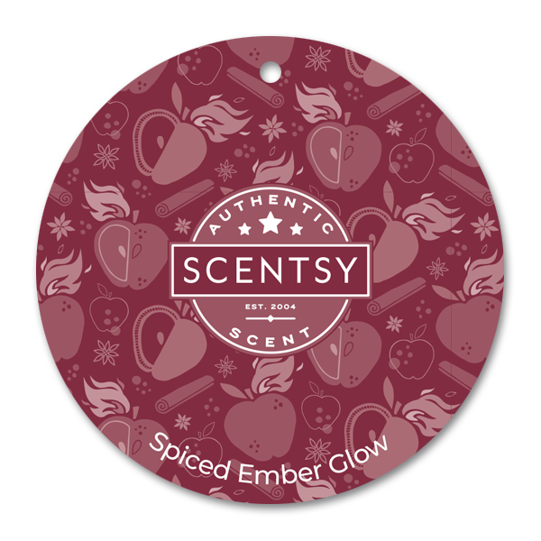 Spiced Ember Glow Scentsy Scent Circle