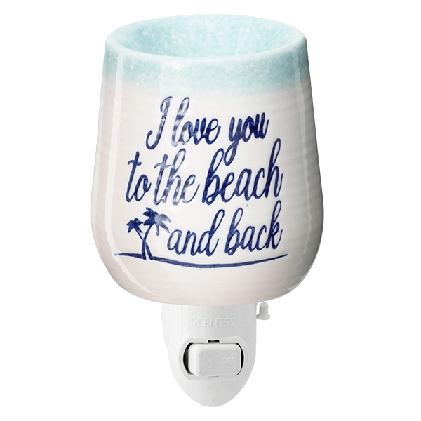 To the Beach and Back Mini Scentsy Warmer
