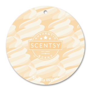 Vanilla Waves Scentsy Scent Circle