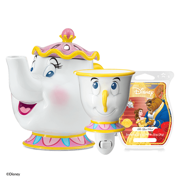 Be Our Guest Scentsy Warmer Bundle | Disney Beauty & The Beast